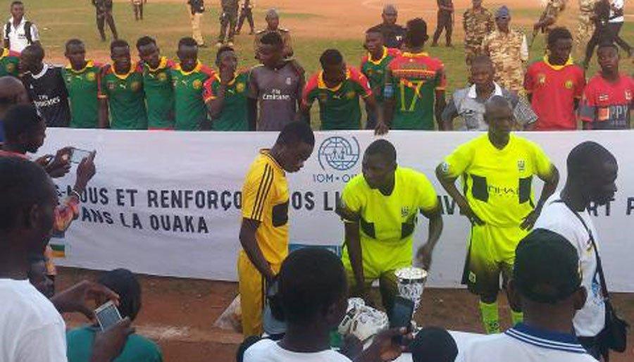 Repubblica Centrafricana: il messaggio di coesione sociale nella finale di Coppa League