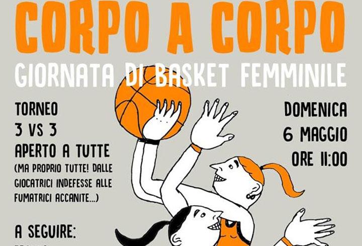 Corpo a Corpo, giornata di Basket Femminile